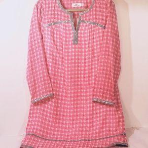 Vineyard Vines Silk Dress Size 12